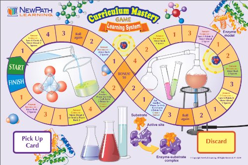 NewPath Learning Middle School Physical Science Curriculum Mastery Game, Grade 5-9, Class Pack