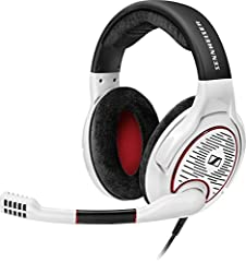 """Feel the rush, the beats, the tension and the awesome sound â€"""" not your headset. The Sennheiser GAME ONE open acoustic gaming headset features an extremely accurate and natural sound experience. The open design keeps your head cool and plush..."""