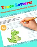 Trace Letters: Preschool Practice Handwriting Workbook: For Kids Ages 3-5: tracing letter books for toddlers for Kids Ages 3-5 Reading And Writing (Wipe Clean) (Volume 1)