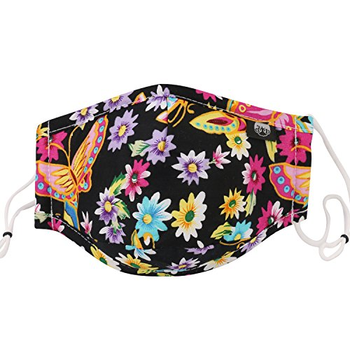 shed Reusable Mask One Size Multiple Colors (Black6) ()