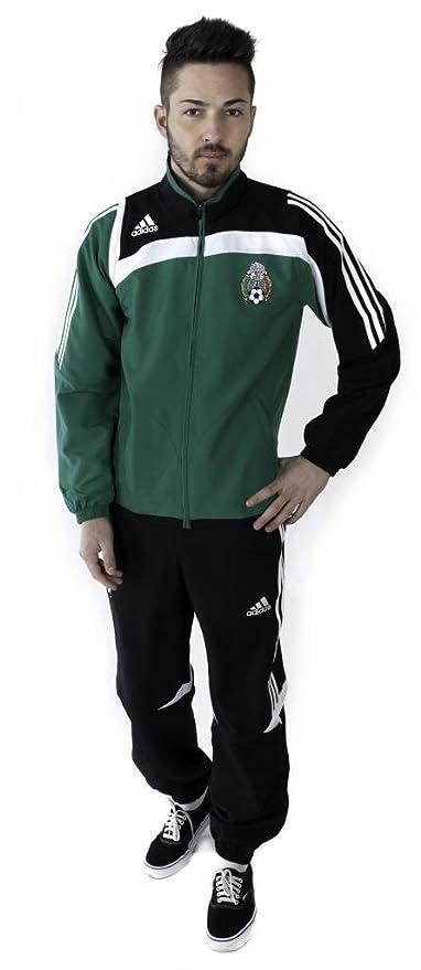 adidas - Mexico Chandal PRESENTACION 07/08 Hombre Color: Verde ...
