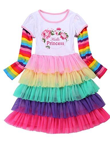 PrinceSasa Flower Little Sister Baby Dress Girls Fall