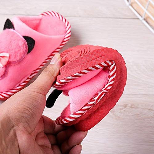 Cute Gray patinage Hiver Chaussons Slippers Cartoon Velours En Automne Gaohui Enfants Thermique Chaussures Corail 3d Anti Couture 4waPq1xq