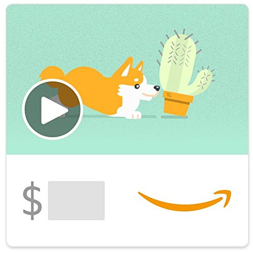 Amazon eGift Card - Thank You Puppy (Animated)