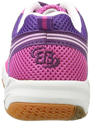 Bruetting Damen Coach Indoor Hallenschuhe Pink (PINK/LILA/WEISS)