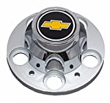 5 lug chevy truck wheels - GM Restoration New GM Licensed Chevrolet Chevy C1500 Truck Blazer Suburban 15 inch 5 Lug Rally Wheel Center Cap