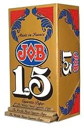 JOB 1.5 Cigarette Rolling Paper 24 Booklets by JOB