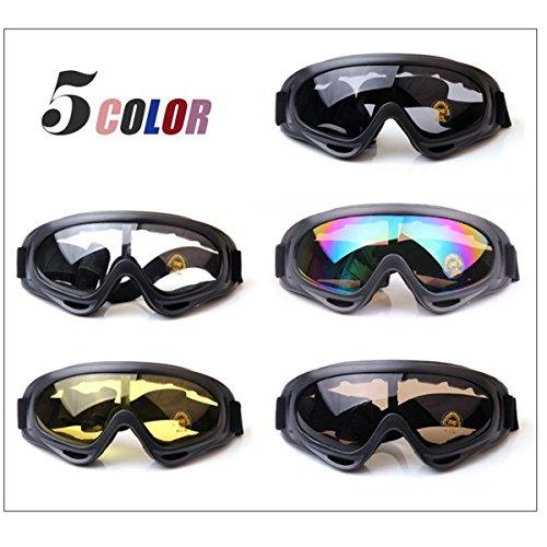 TININNA vetri protettivi Occhiali di sicurezza Sci Occhiali All'aperto Sport Antipolvere Occhiali da sole Bicicletta Moto Ciclismo Occhiali Trasparente Mwb94Z4j