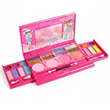 IQ Toys Princess Girl's All-in-One Deluxe Makeup Palette Mirror