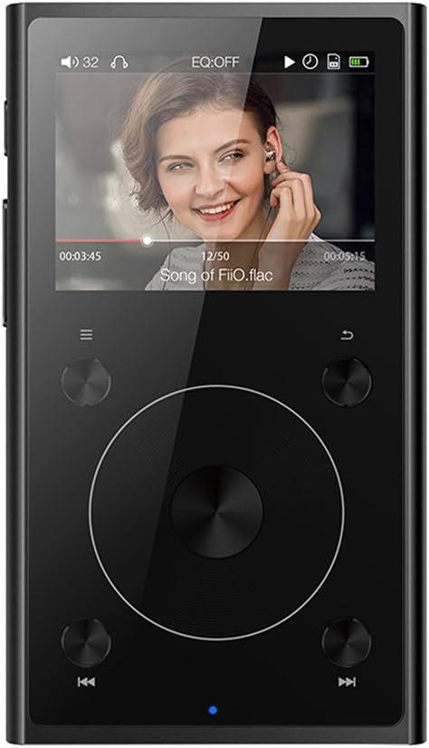 FiiO X1 II reproductor de High Definition Audio Player - 192 kHz/32bit - Bluetooth 4.0 - tochwheel a la navegación, Pantalla a color, negro