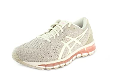 59e8776ad ASICS Women s Gel-Quantum 360 Knit Running Shoe Birch Feather Grey 10 ...