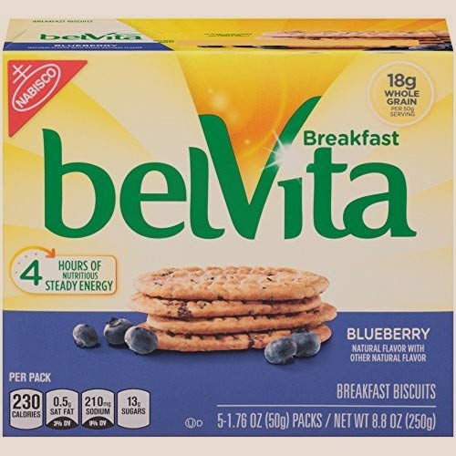 Blueberry Breakfast Biscuits, 5 Count Box Limited Edition by Belvita (Image #7)