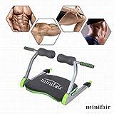 Tedamegaeu Exercise Equipment Gym AB Trainer Machine Home Body Fitness