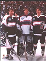 Colorado Avalanche Patrick Roy, Joe Sakic, Raymond Bourque Photo