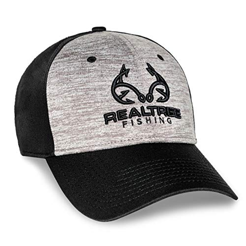 Realtree Fishing Heathered Adjustable Cap (Hats Realtree)