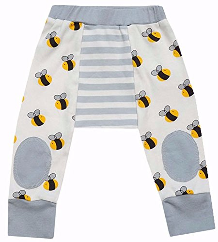 Cat & Dogma Certified Organic Baby Pants - Bee(6-12 - Bee Donations
