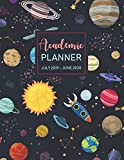 July 2019 - June 2020 Academic Planner: Calendar oranizer at a glance monthly planner and yearly calendar schedule organizer and college student ... cover (Academic calendar July2019-June2020)