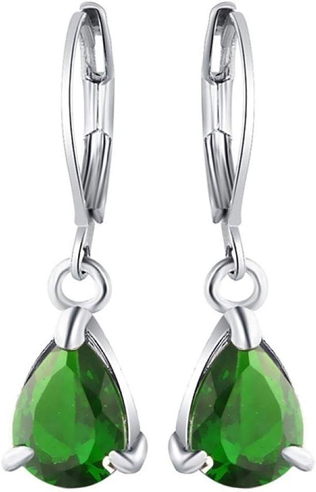 Pendientes de gota de granate bohemio joyería de moda cuentas de perlas borla pendientes de jade piedras preciosas peridoto damas