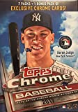 #3: 2017 Topps Chrome MLB Baseball Series Unopened Blaster Box with a Chance for Aaron Judge Rookies and Refractor Cards