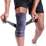 BERTER Knee Brace for Men Women Compression Sleeve Non-Slip Knee Support Stability Comfort for Running, Weightlifting, Baseball, Crossfit, Working Out