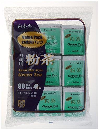 Yamamotoyama - Green Tea (Sushi Bar Style) 90 Bag Value Pack - Style Sushi