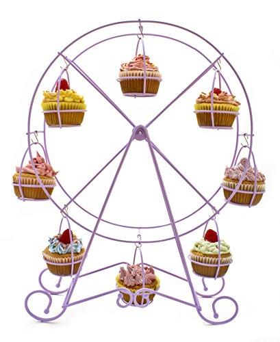 (Zoie + Chloe Cupcake Ferris Wheel Cupcake Stand)