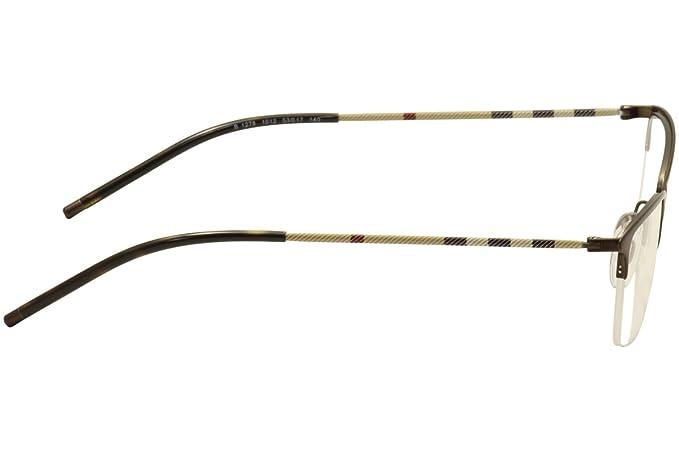 07a671c15ca9 Amazon.com: Burberry Women's BE1278 Eyeglasses Matte Brown 53mm: Shoes