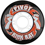 Rink Rat Pivot Asphalt 84A Inline Replacement Wheels 4-Pack Color: Multicoloured Size: 72MM Model: , Toys & Games for Kids & Child