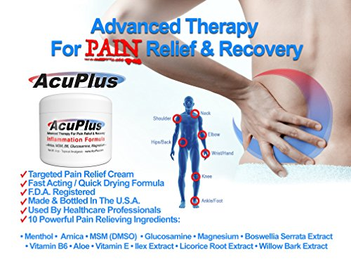 AcuPlus Pain Relief Cream - Advanced Therapy for Relief and