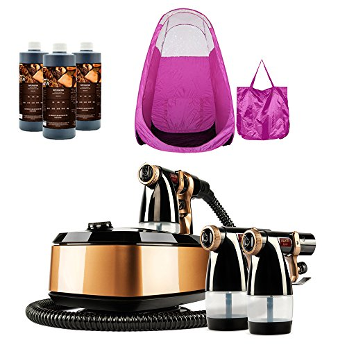 maximist-allure-xena-hvlp-spray-tanning-system-with-pop-up-tan-tent-pink