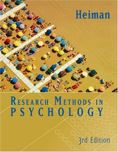 By Gary Heiman - Research Methods in Psychology: 3rd (third) Edition