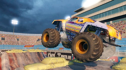 Monster Jam 3: Path of Destruction with Grave Digger Steering Wheel  Peripheral - Nintendo Wii