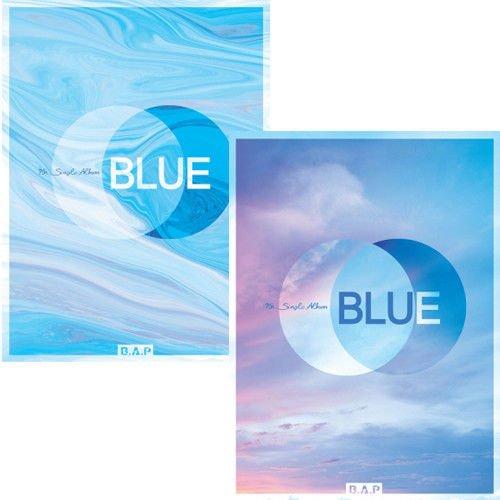 B.A.P [BLUE] 7th Single Album Random Ver CD+84p Photobook+Photocard+Tracking Number K-POP SEALED