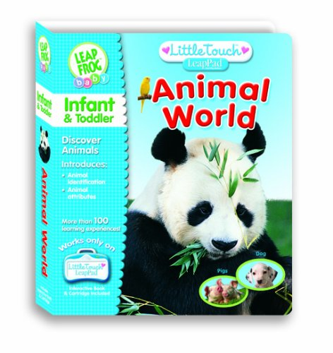 LeapFrog Animal World - Little Touch LeapPad Interactive Book by LeapFrog