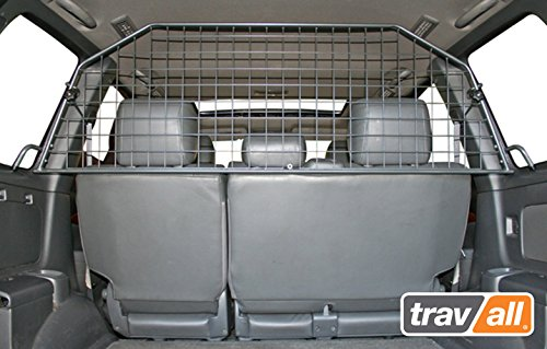Travall Guard Compatible with Toyota Land Cruiser (2003-2009) Also for Toyota Land Cruiser Prado (2003-2009) TDG1124 - Rattle-Free Steel Pet Barrier
