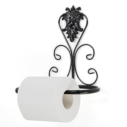 Brussels08 - Dispensador de Papel higiénico de Pared, Estilo Vintage, con Tornillos, para