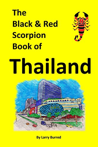 The Black And Red Scorpion Book Of Thailand