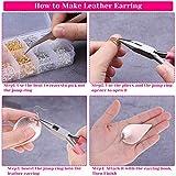 Earring Making Supplies, Paxcoo 1350pcs Earring