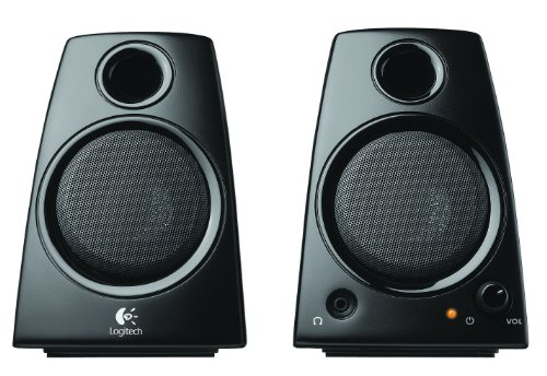 Logitech 3 5mm Compact Laptop Speakers product image