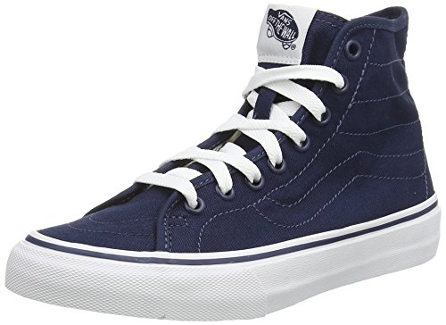 Dress Blues Canvas da U White Vans Sk8 Scarpe Blu True Hi Decon Unisex Alte Ginnastica UPU7HqBW