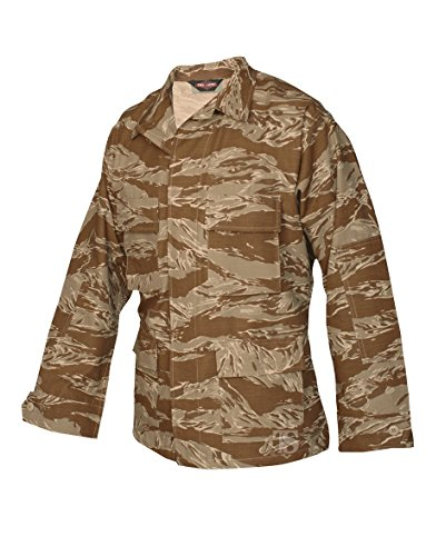 Tru-Spec BDU Coat Cotton Desert Tiger Stripe XL-Long 1596026 ()