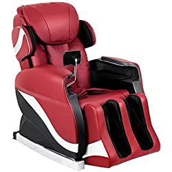 Merax Full Body Massage Recliner Chair 8-Massaging Programs Electric Leather Lounge Chair Massage Chair