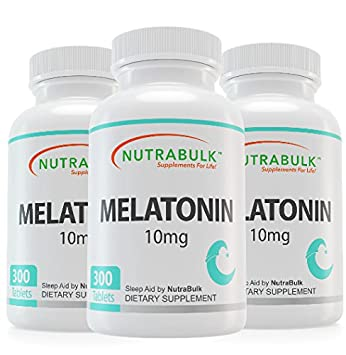 Image Unavailable. Image not available for. Color: NutraBulk Melatonin 10mg ...