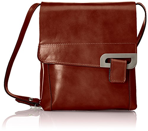 Leather Ctm Genuine Cuerpo La 35 Mensajero 100 Hecho Body Auténtico 8 Cruz 8 Ctm Italia In Cuero Made Bolsa Messenger 100 25x2 25x2 De 65x10 35 Cross 65x10 marrone Marrón marrone En Italy Bag Brown rxqwvHnzr