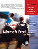 VBA and Macros for Microsoft Excel, Bill Jelen and Tracy Syrstad, 0789731290