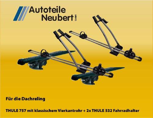 Set:THULE 757 + Vierkantrohr 761 + FreeRide 532 (2x)