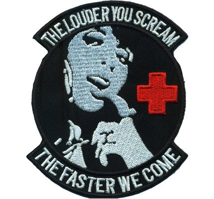 biker-lady-the-scream-louder-you-the-faster-we-come-nurse-iron-on-patch-badge