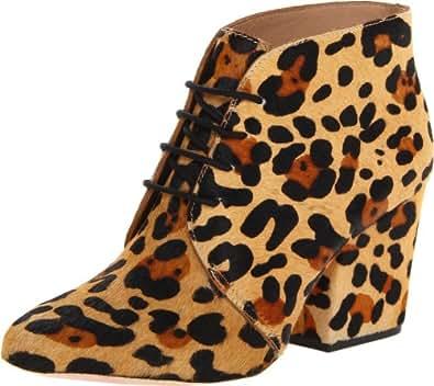 Kate Spade New York Women's Roger Boot,Camel Black Lepard Haircalf,7.5 M US