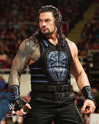 Roman Reigns 2017 in-ring - WWE Photo 8x10