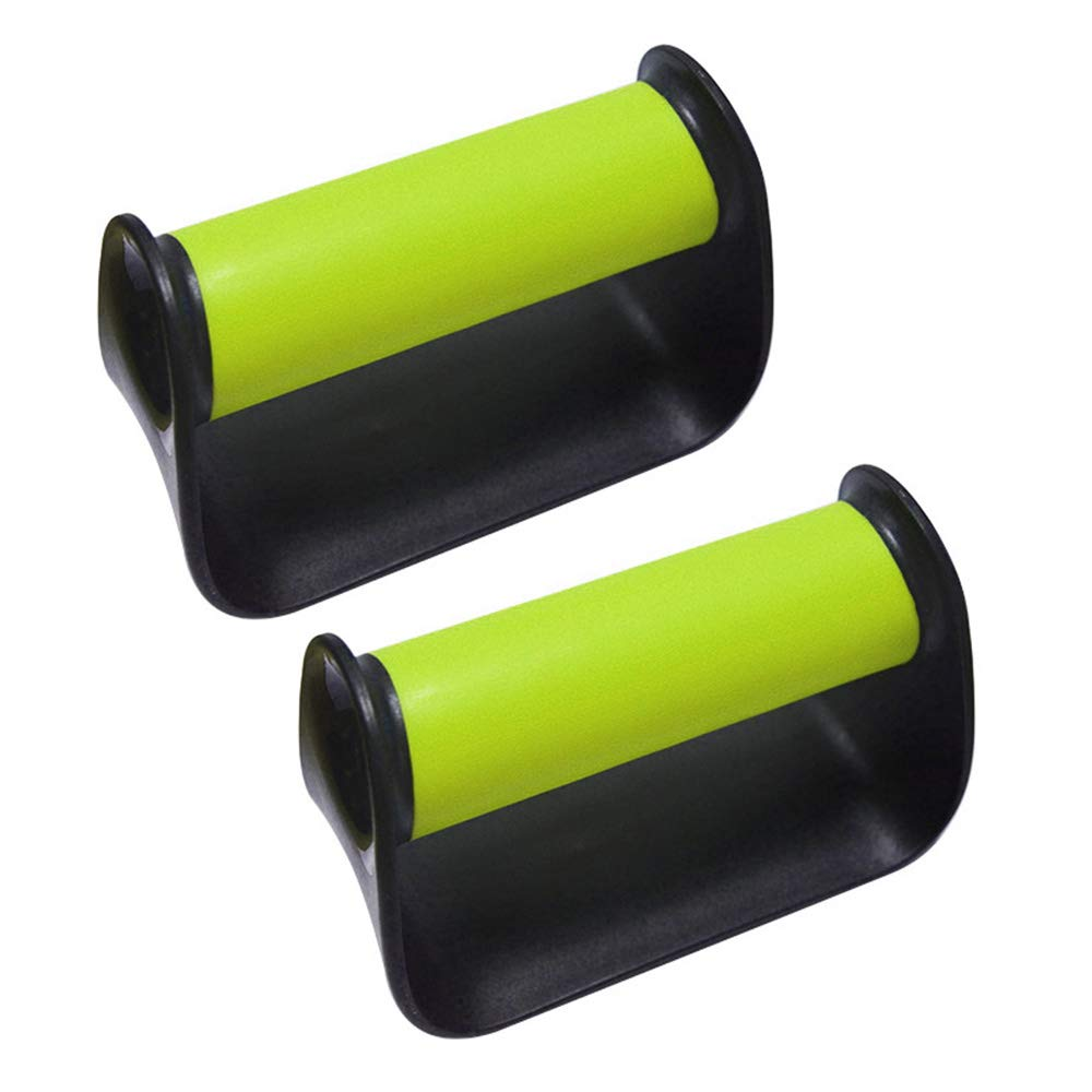MetaBall Portable Push Up Handles Bars for Men Fitness Workout Pushup Handle Stands Green by MetaBall